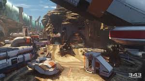warzone maps on impressions of a halo 5 guardians match from e3 2015