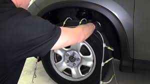 review of the glacier cable snow tire chains on a 2014 honda cr v