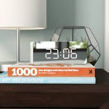 alarm clocks you u0027ll love wayfair