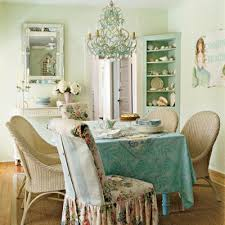 Chic Dining Rooms Dining Room Floral Shabby Chic Table Settings Dining Room Ideas