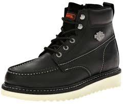 brown leather harley boots harley davidson u0026reg men u0027s beau leather lifestyle shoes d93135