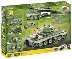 lego rolls royce armored car cobi small army wwii 2454 a27m cromwell mk vii 400 building