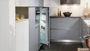 cuisine du frigo electroménager intégré à votre cuisine sur mesure mobalpa