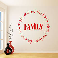 be true to your family name quote wall sticker world of wall be true to your family name quote wall sticker world of wall stickers