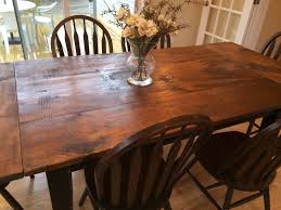 Dining Room Tables With Built In Leaves The New England Farm Table Co Custom Hand Made Farm Tables And