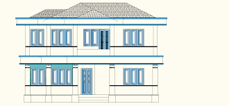 Kerala Home Design Low Cost Kerala Home Plan With 5 Bedrooms