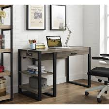 Computer Desk With Shelves by 48