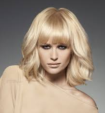 images of bouncy bob haircut light and bouncy bob with bangs hairstyle that reaches the shoulders