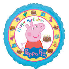 peppa pig birthday peppa pig birthday foil balloon peppa pig balloons
