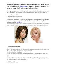 see what you would look like with different color hair what would you look like with short hair p1