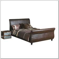 Black Leather Sleigh Bed Black Leather Sleigh Bed Beds Home Design Ideas Rndllvzd8q12708