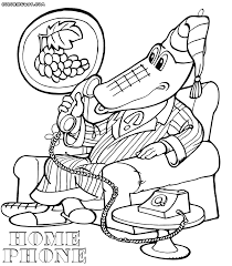 phone coloring pages coloring pages to download and print