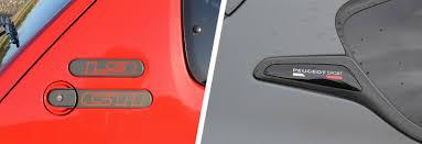 peugeot car badge peugeot 205 gti 1 9 vs 208 gti u2013 old vs new carwow