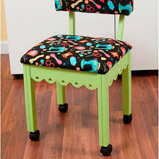 Seat Chair Arrow Sewing Chair With Seat Storage Green Black 7977223 Hsn
