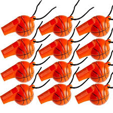 basketball party supplies basketball mini whistles 12ct would be party favors for a