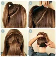 tutorial rambut tutorial menata rambut panjang simple sederhana tutorial menata