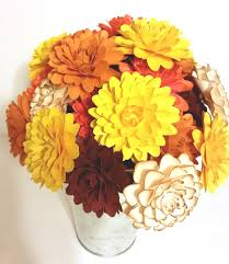 thanksgiving bouquet fall paper flower bouquet handmade paper flowers thanksgiving