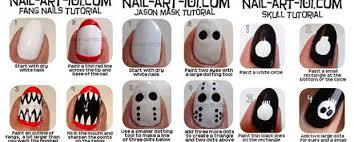 easy nail art for halloween 5 designs youtube 4 easy halloween
