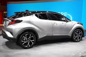 toyota toyota toyota wants to boost hybrid sales with new c hr crossover