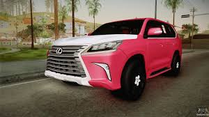 lexus hatchback modded lexus lx570 2016 for gta san andreas