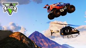 gta 5 monster truck derby gta epic stunts u0026 demolition derby