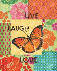 live laugh love art live laugh love patch painting by debbie dewitt