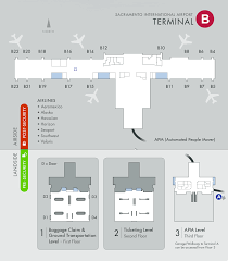 Phoenix Airport Terminal Map by Aa Definitive Smf Sacramento Thread New Terminal B As Of 6 Oct