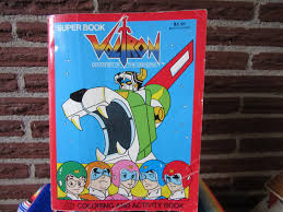 voltron coloring book voltron coloring book