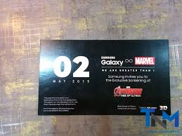 samsung exclusive screening of avengers age of ultron