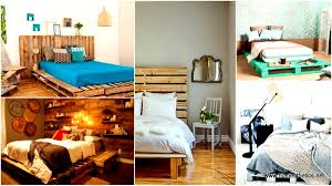 25 ingeniously beautiful diy pallet bed designs