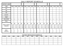 daily report sheet template nursing report sheet fieldstation co