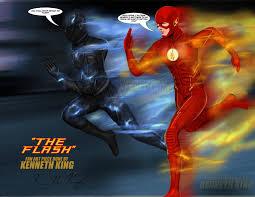 the flash fan art the flash vs zoom fan art btw by kwking21 on deviantart