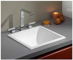 White Drop In Bathroom Sink Majestic Square Drop In Bathroom Sink Sinks Awesome Undermount Ada
