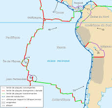 World Plate Boundaries Map by New Study Focused On Nazca Plate Shows A Link Between The Shape Of