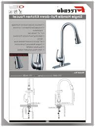 moen kitchen faucets installation instructions moen renzo kitchen faucet installation moen faucet spray wands