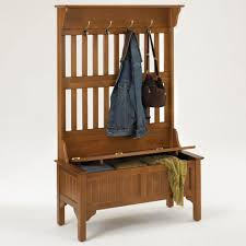 furniture minimalist entryway bench and coat rack cottage