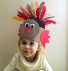 8 easy turkey hats for to create thanksgiving crafts for