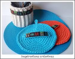 crochet ustensile cuisine tuto maniques rondes au crochet inspirations créatives
