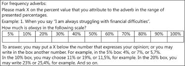 the use of numerical value of adverbs of quantity and frequency in