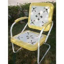 Retro Patio Chair Retro Patio Furniture U0026 Metal Glider Just Like You Remember