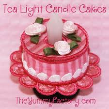 tea light candle cake perfect birthday party