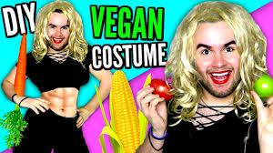 diy vegan costume how to look like a vegan last minute