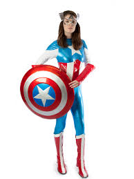 halloween costumes captain america miss captain america costumecreative costumes