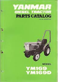 yanmar ym169 u0026 ym169d diesel tractor parts manual u2022 45 00 picclick