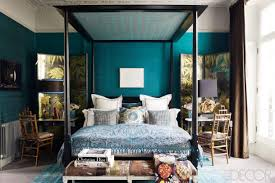 Tall Canopy Bed by Bedroom Teal Theme Bedroom With Canopy Bed And Desk Chair Set