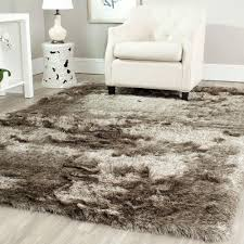 6 Foot Round Rugs by Safavieh Paris Shag Sable 5 Ft X 7 Ft Area Rug Sg511 9292 57