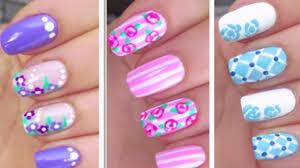 flower nail art designs flower nails