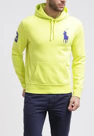 polo ralph lauren sweatshirt neon yellow prix sweatshirt homme