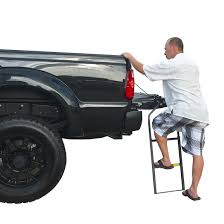Ford F150 Truck Height - traxion tailgate ladder 282928 accessories at sportsman u0027s guide