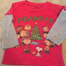 peanuts christmas t shirt find more toddler boys peanuts christmas sleeve t shirt 3t